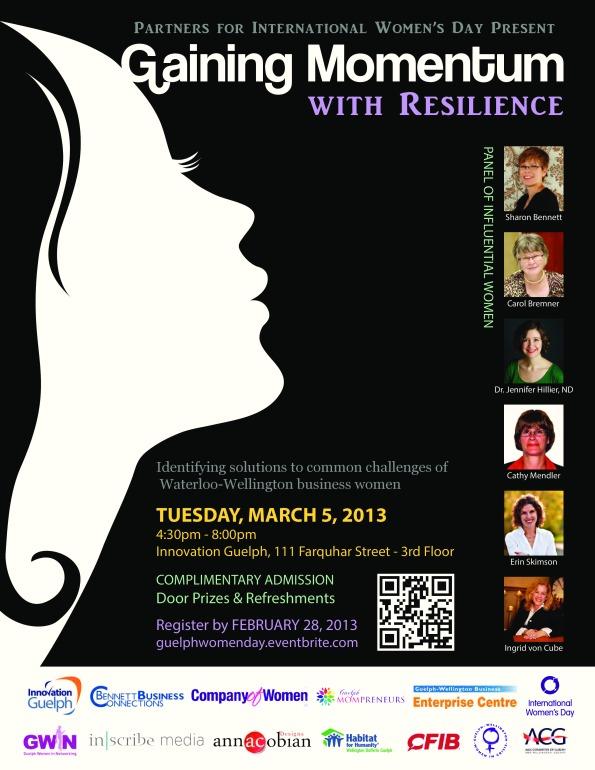 International Womens Day Guelph